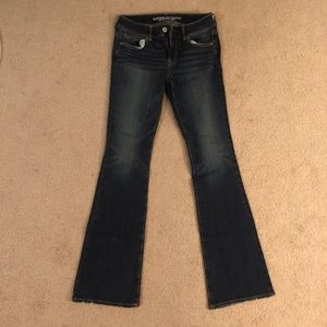 American Eagle bootcut jeans size 2